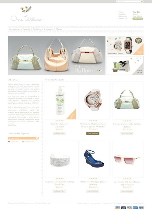 One-Willow-Ecommerce-Templates
