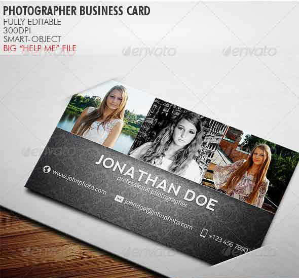 65 Best Business Card For Photographers 2016