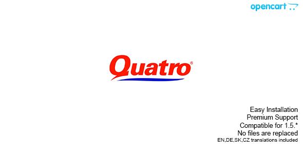 Quatro - Opencart Payment Plugin