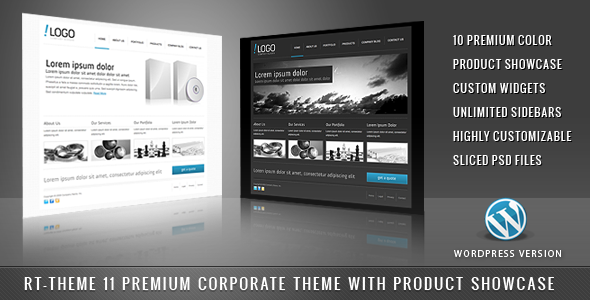 RT-Theme 11-Business Theme 10 in 1 For WordPress