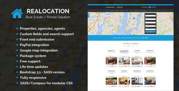 Realocation - Modern Real Estate WordPress Theme