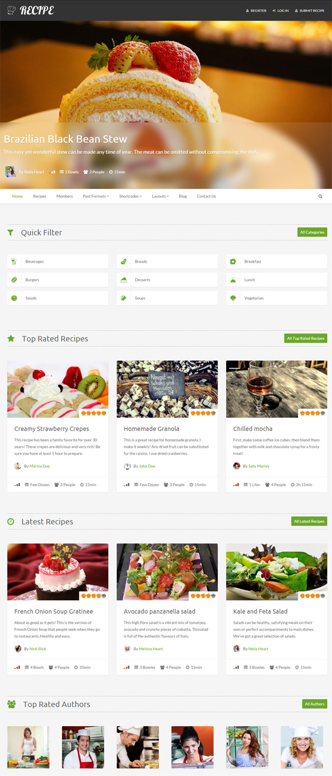 Recipe-Wordpress-Theme-For-Recipes
