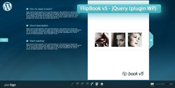 Responsive FlipBook v5-jQuery