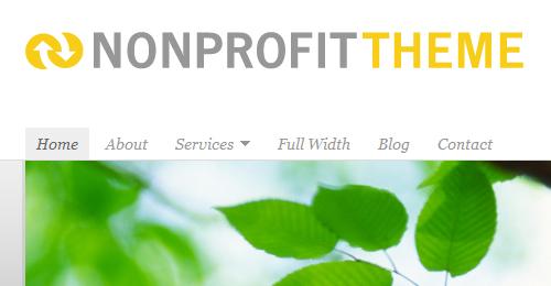 Responsive Non Profit WordPress Themes
