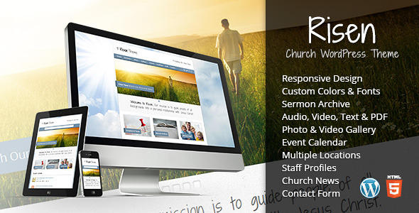 Risen-Church WordPress Theme-Responsive