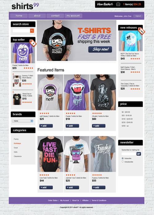 Shirts-99-Ecommerce-Templates