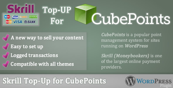Skrill Top-up for CubePoints