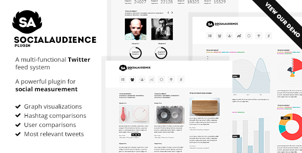 Social Audience Plugin. Twitter analytics