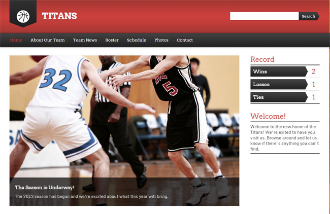 Sports-Team-Wordpress-Theme