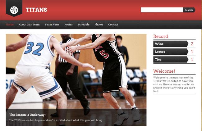 Sports-Team-Wordpress-Theme