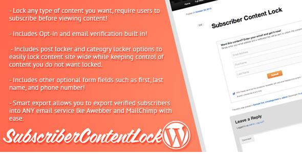 Subscriber Content Lock
