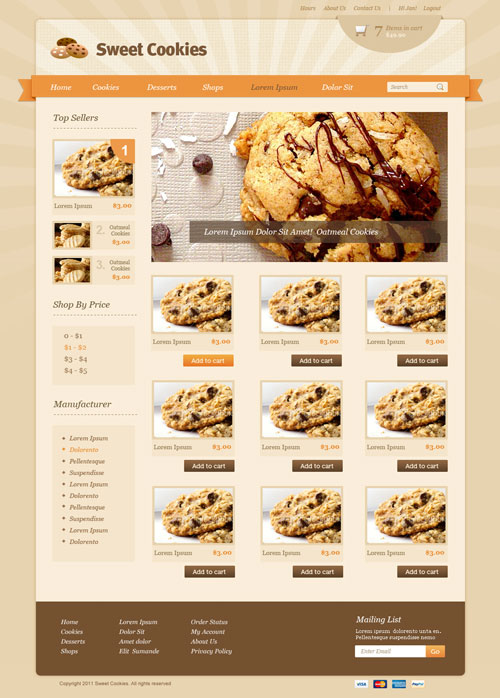 Sweet-Cookies-Ecommerce-Templates