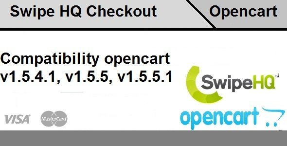 Swipe HQ Checkout Opencart