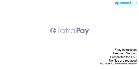 Tatrabanka TatraPay - Opencart Plugin
