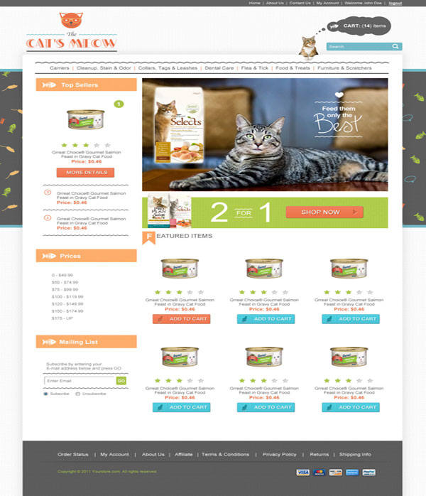 The-Cat-Meow-Ecommerce-Templates