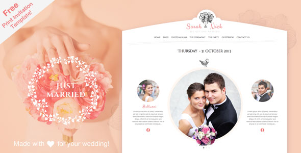 The-Wedding-Day-Responsive-Theme