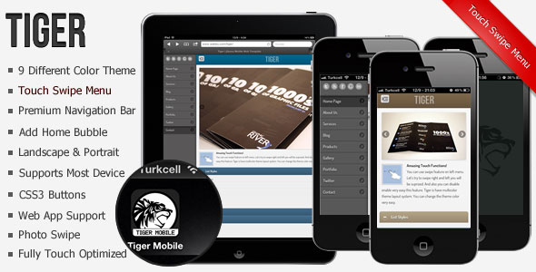 Tiger-jQuery-Mobile-Web-Template-Web-App