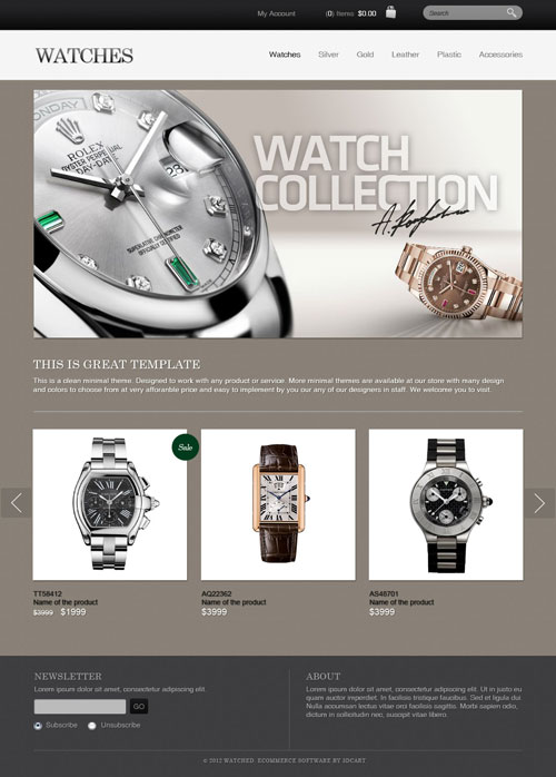 Watch-Collection-Ecommerce-Templates
