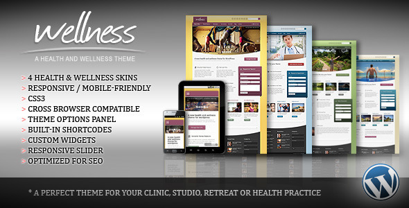 Wellness-A Health-Wellness WordPress Theme