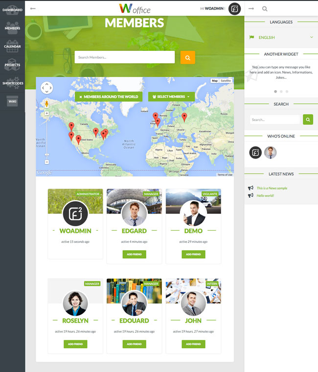 Woffice-Intranet-Extranet-WordPress-Theme
