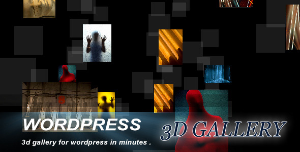 Wordpress Responsive 3D Gallery Plugin