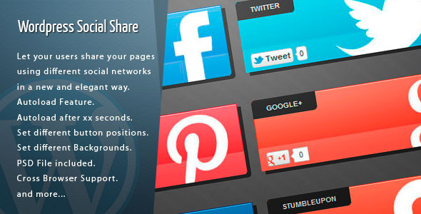 Wordpress Social Share