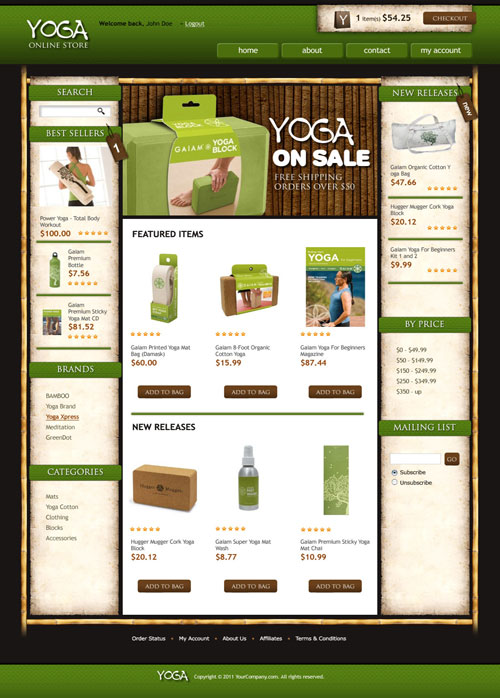 Yoga-Online-Ecommerce-Templates