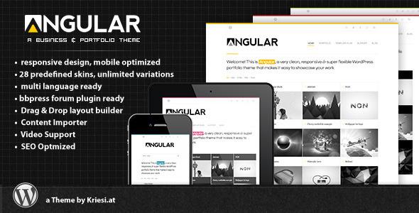 angular-responsive-portfolio