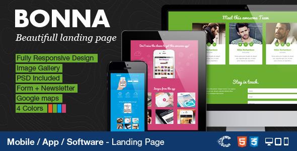 bonna-responsive-landing-page