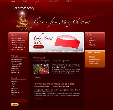 wordpress christmas-story