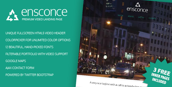 ensconce-premium-video-landing-page