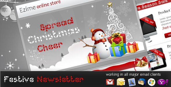 festive-newsletter-template