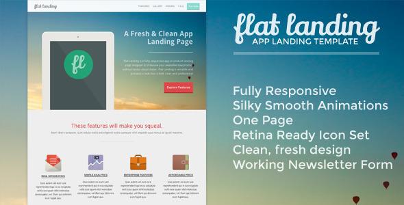 flat-landing-responsive-product-landing-template