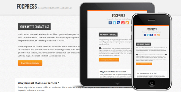 focpress-responsive-bussiness-landing-page