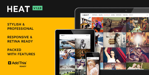 heat-premium-portfolio-wordpress-theme