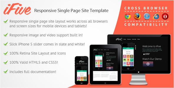 ifive-responsive-single-page-app-site-template