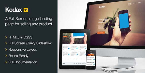 kodax-full-screen-landing-page