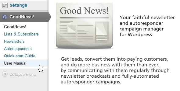 newsletter-autoresponder manager