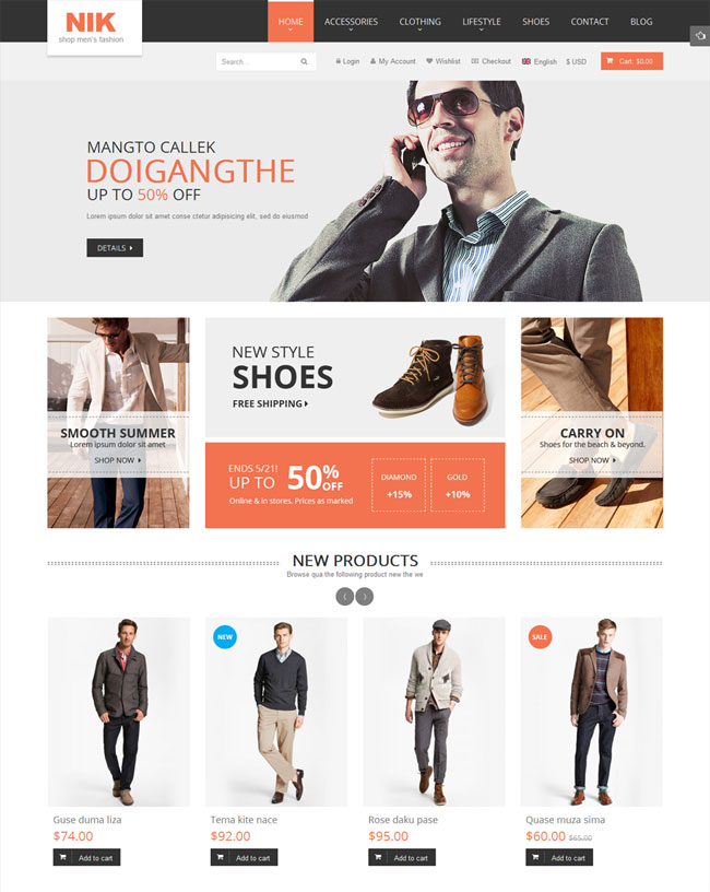 nik-responsive-magento-fashion-theme