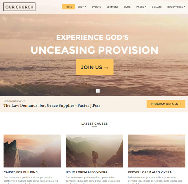 our-church-responsive-multipurpose-wordpress-theme