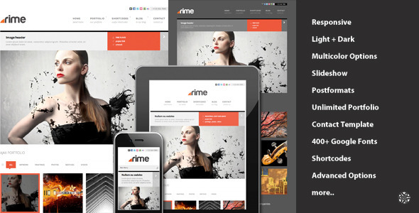 rime-responsive-portfolio-for-wordpress