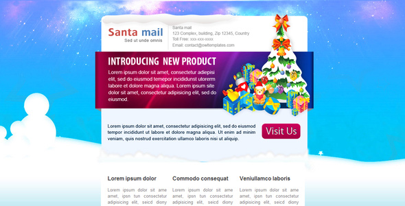 santamail-newsletter-email-template