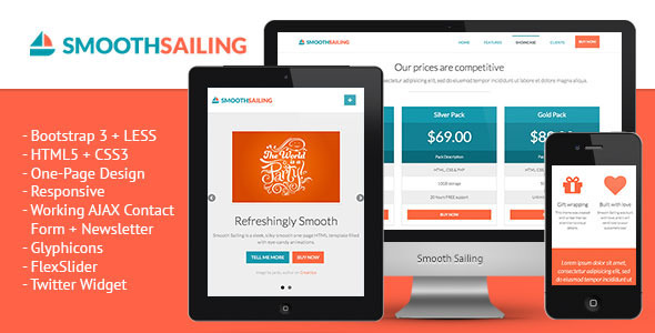 smooth-sailing-onepage-bootstrap-3-landing-page