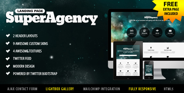 super-agency-responsive-landing-page