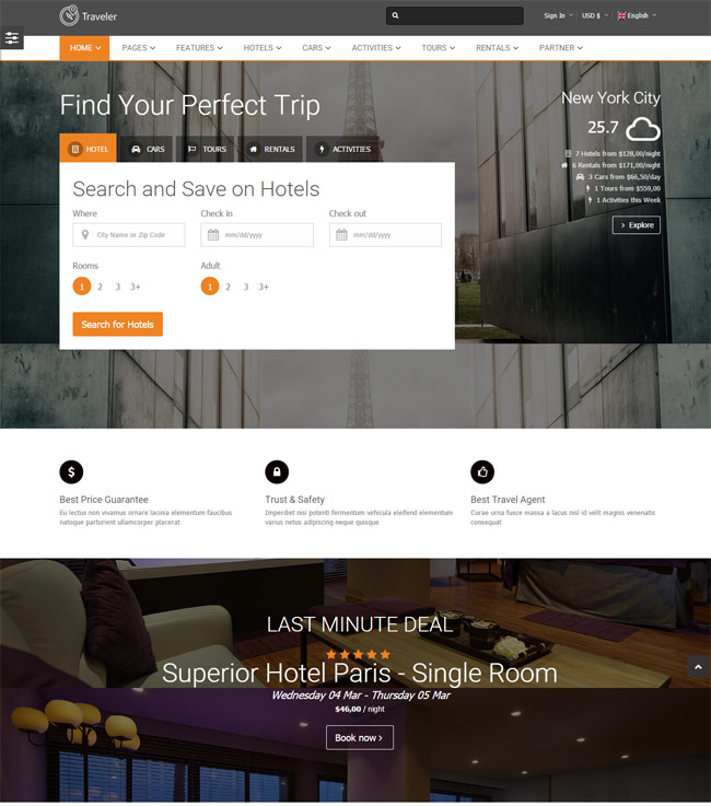 traveler-travel-tour-booking-wordpress-theme