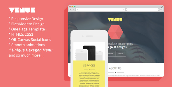 venue-creative-and-flat-responsive-landing-page