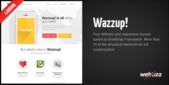 wazzup-bootstrap-responsive-landing-page