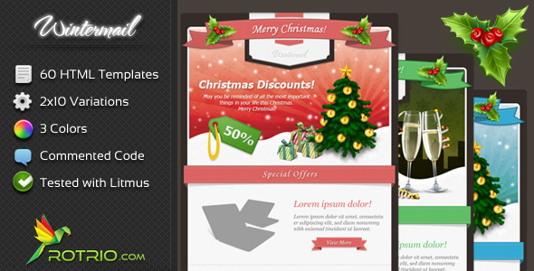 20 Best New Year Newsletter Templates 2014 DesignMaz – New Year Email Template