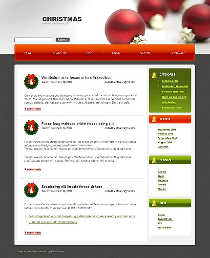 wordpress-Merry-Christmas-theme