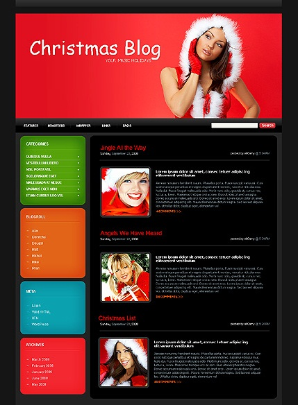 wordpress-christmas-blog